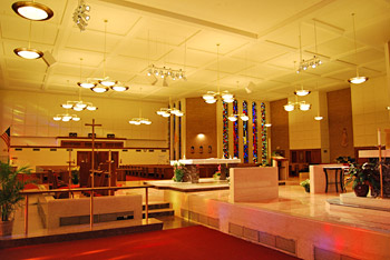 Modern Church Lighting