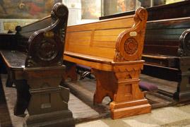 church pew refinishing u0026 restoration - Church Pew